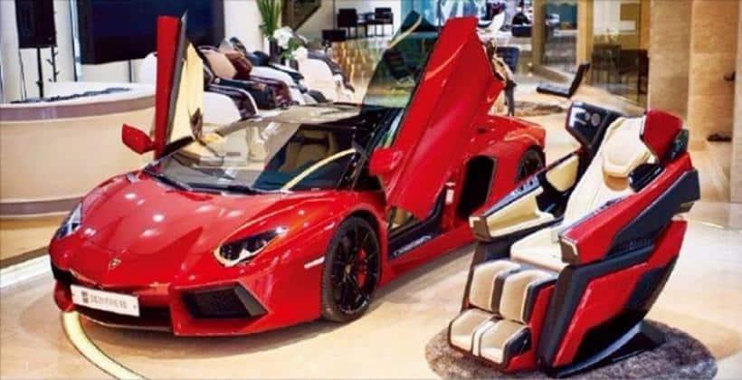 Lamborghini massage chair