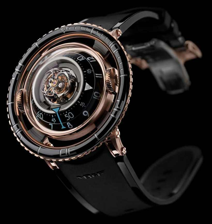 MB&F HM7 Aquapod Tourbillon