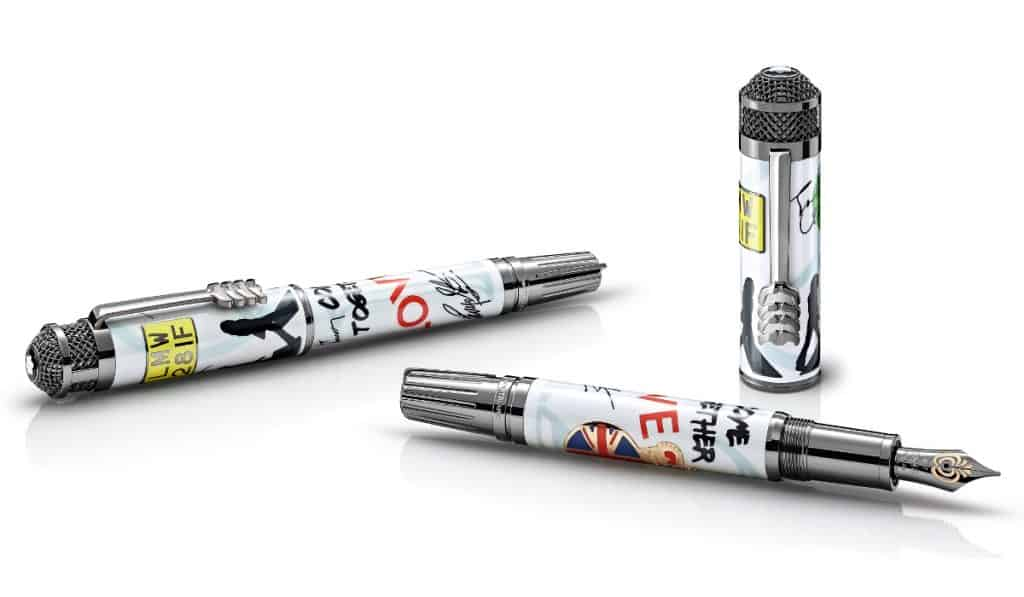 Montblanc Remembers The Beatles in the Best Way Possible
