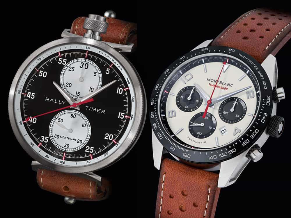 Montblanc TimeWalker Rally Watches