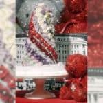 Preserved Rose Mini Christmas Tree