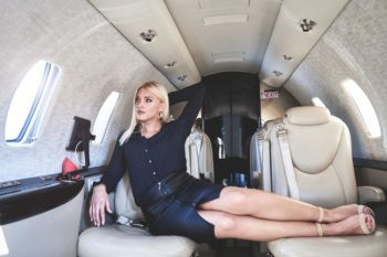 Private Jet for Photoshoots 1
