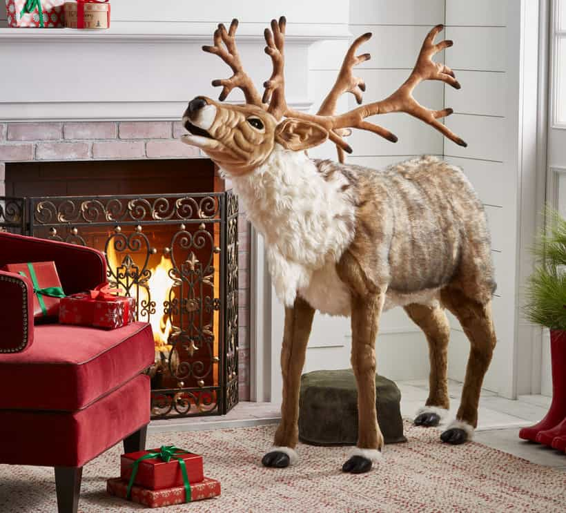 Song-Playing Reindeer