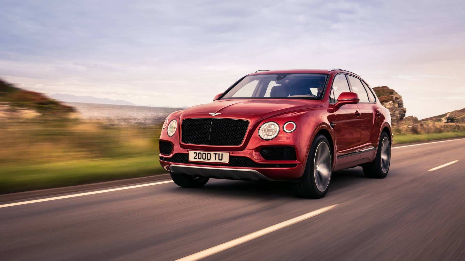 The Bentley Bentayga V8 is Here to Make Some Noise