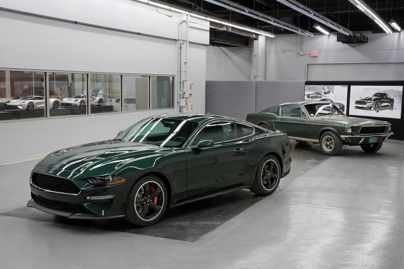 the 2019 ford mustang bullitt is inspired by a legend. Black Bedroom Furniture Sets. Home Design Ideas