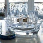 Baccarat Harcourt Abysse caviar set 1