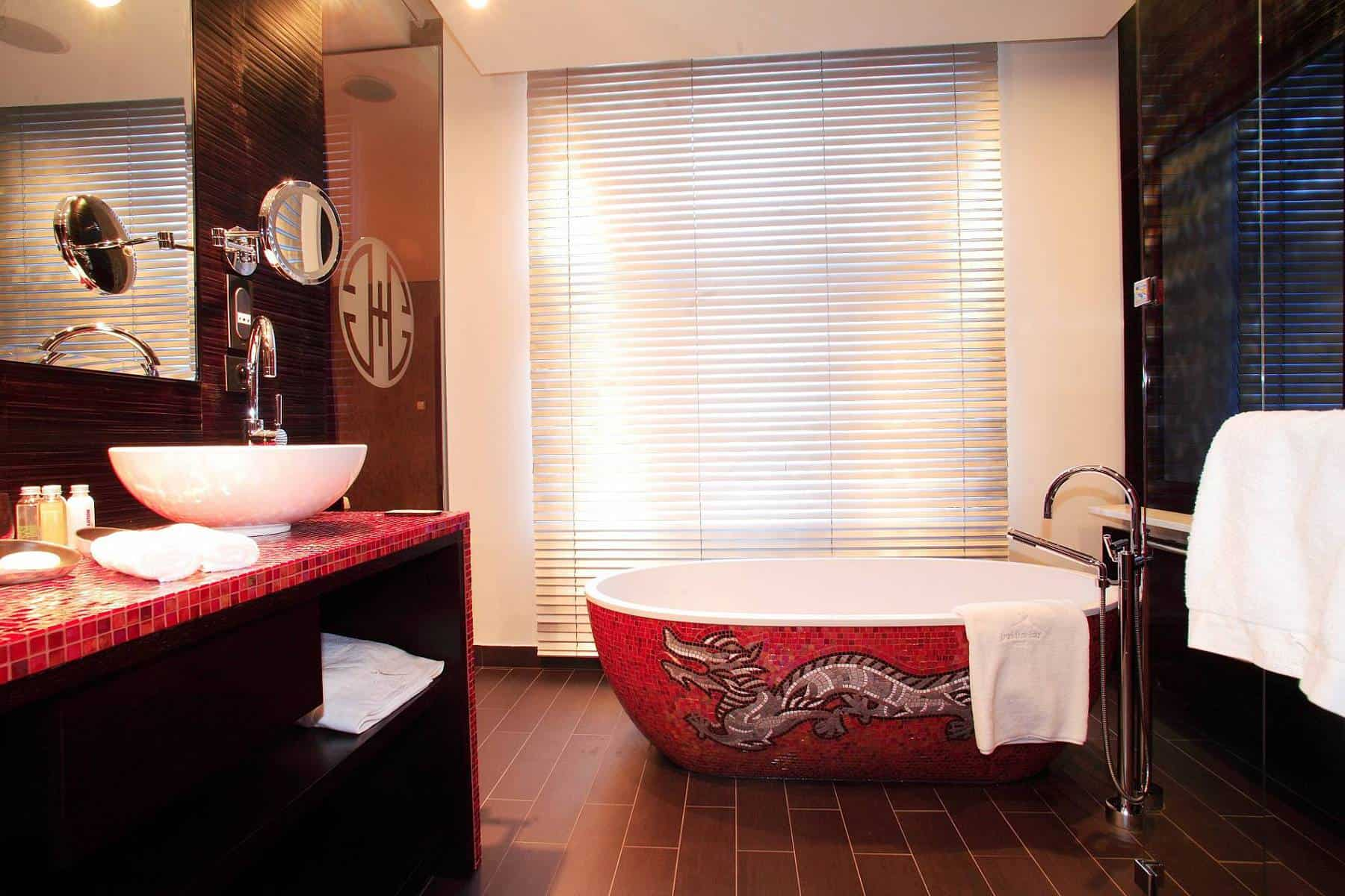 Buddha Bar Prague Bathroom