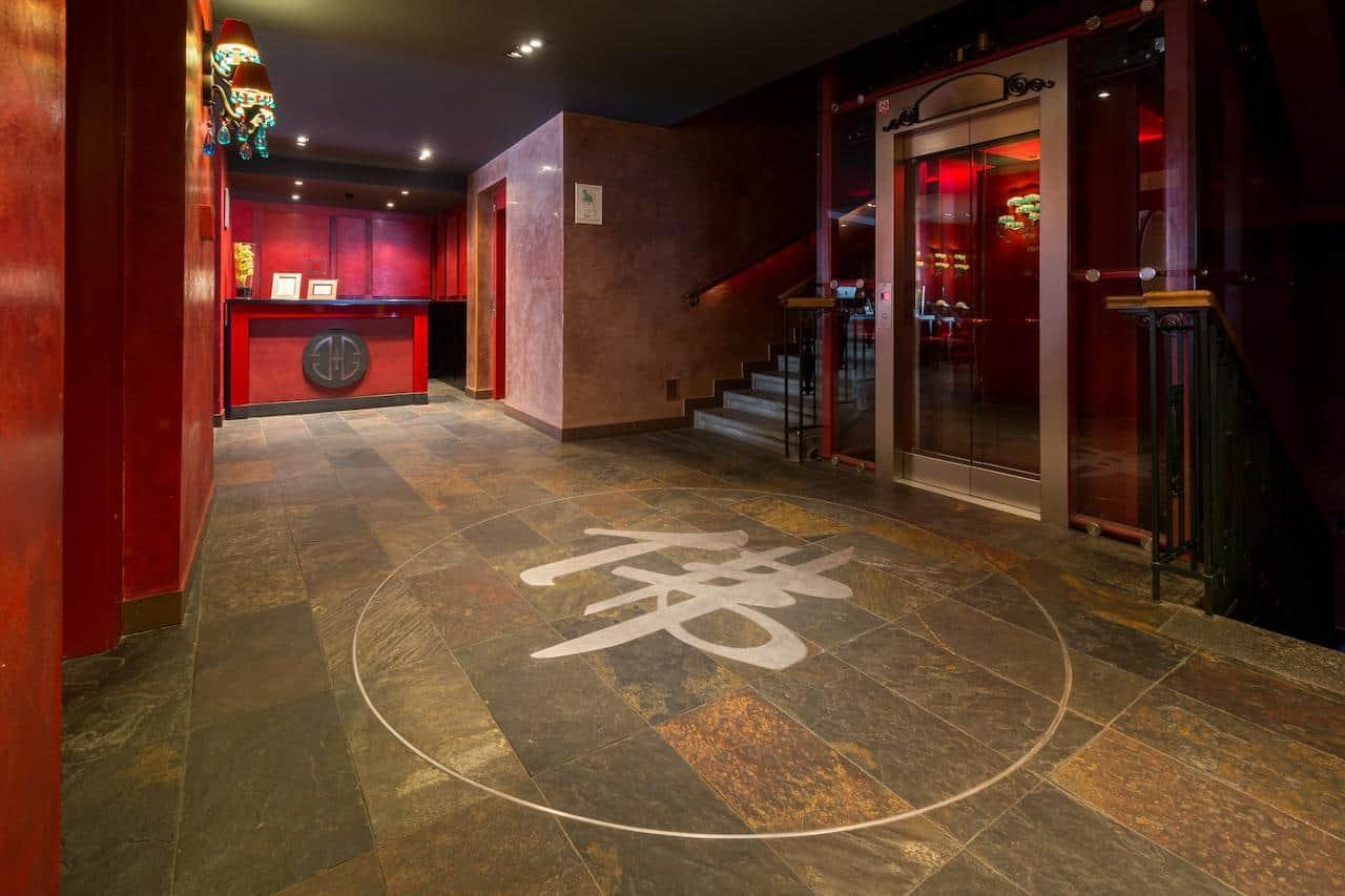 Buddha Bar Prague Hallway