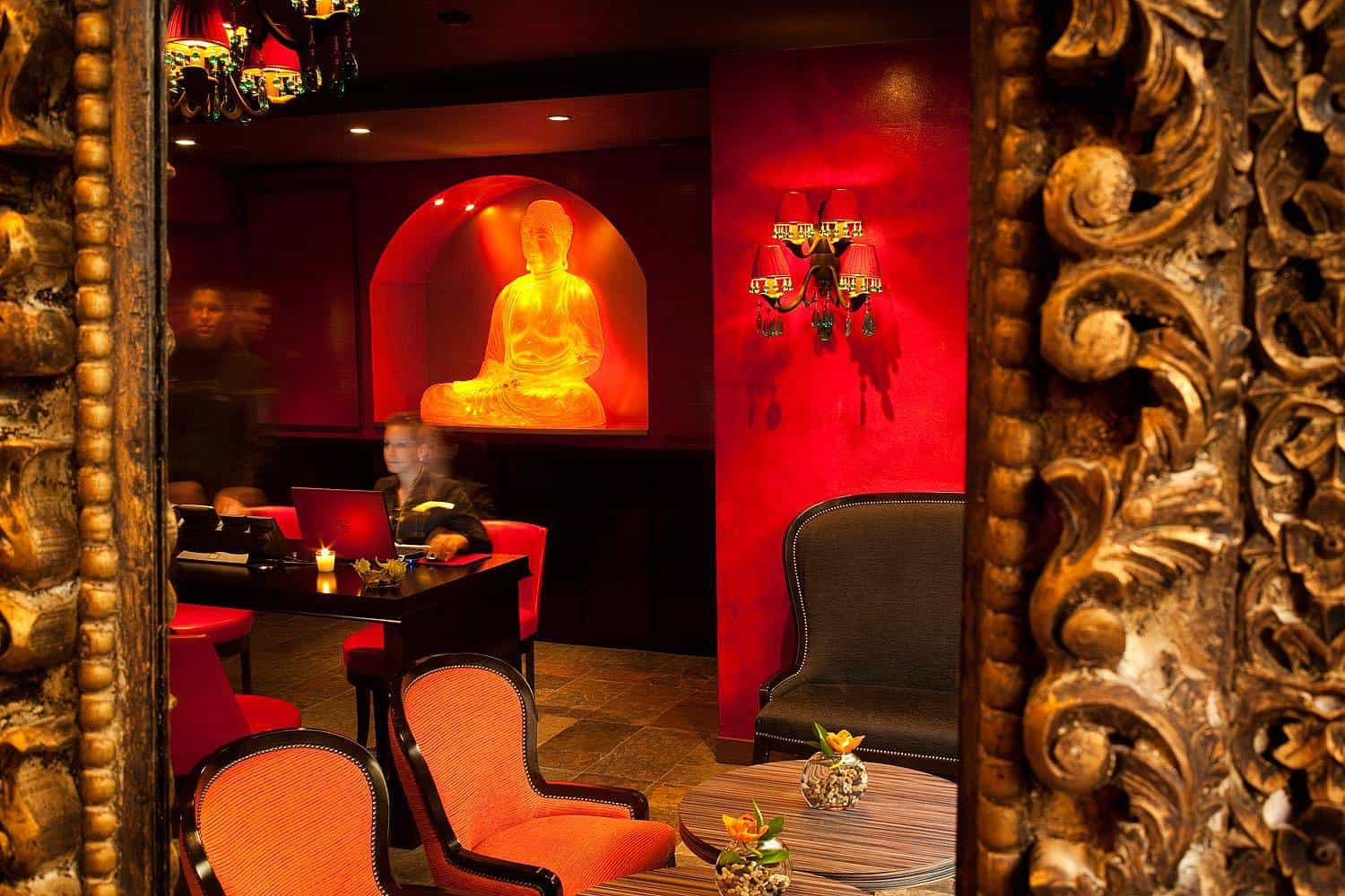 Buddha Bar Prague Reception 1