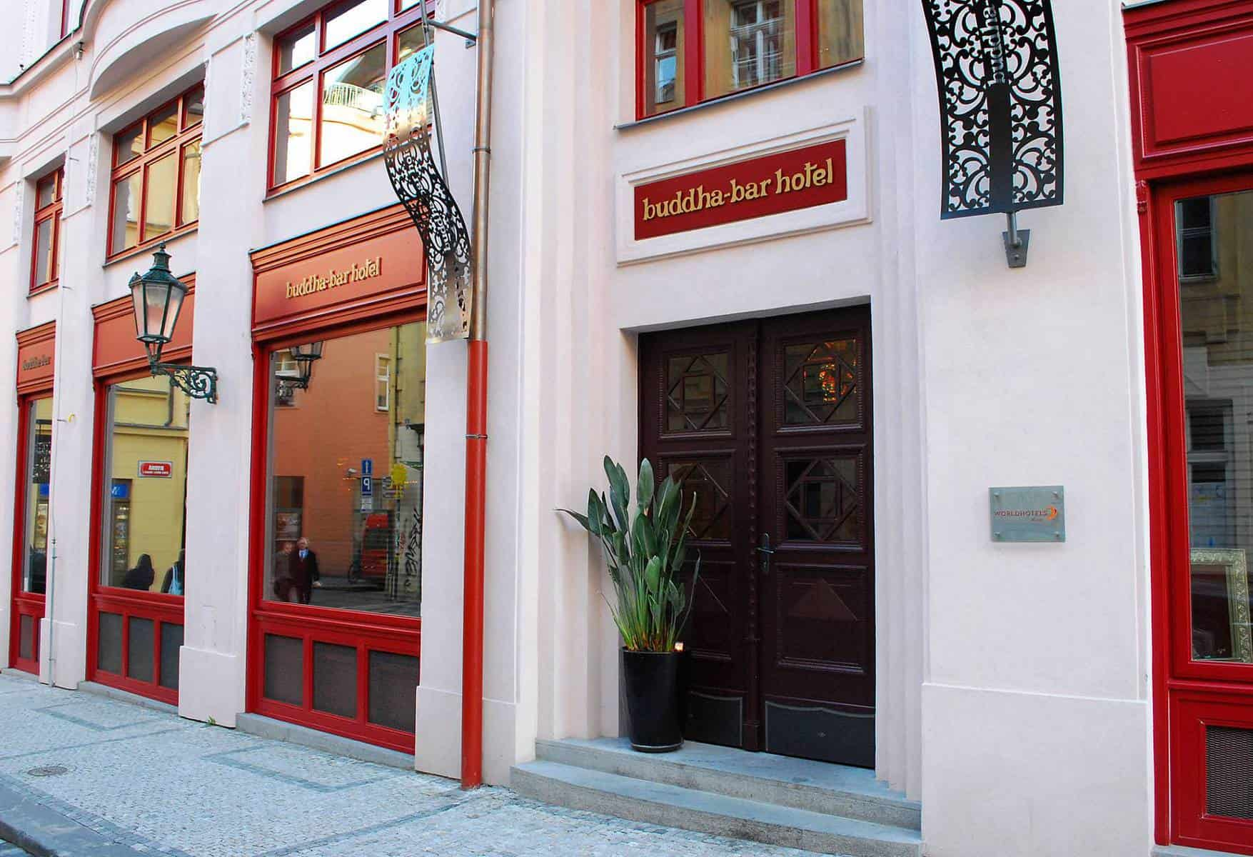 Buddha Bar Prague entrance