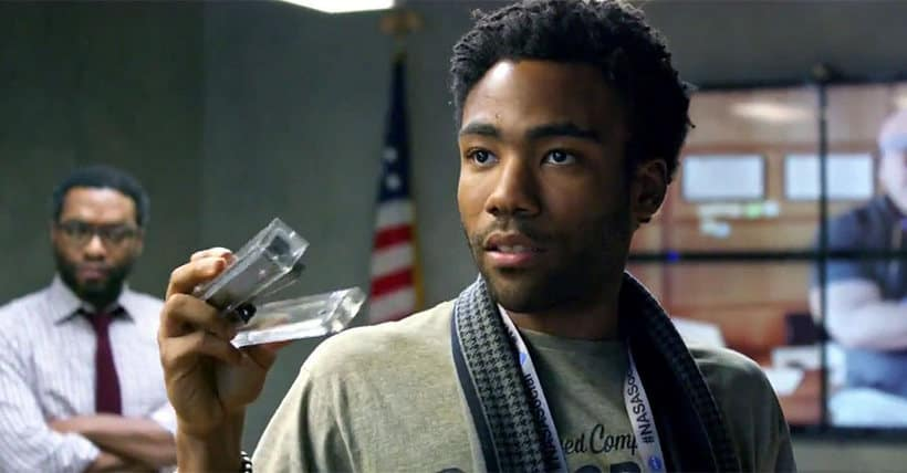 Donald Glover the martian