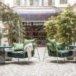 Gewandhaus Dresden courtyard
