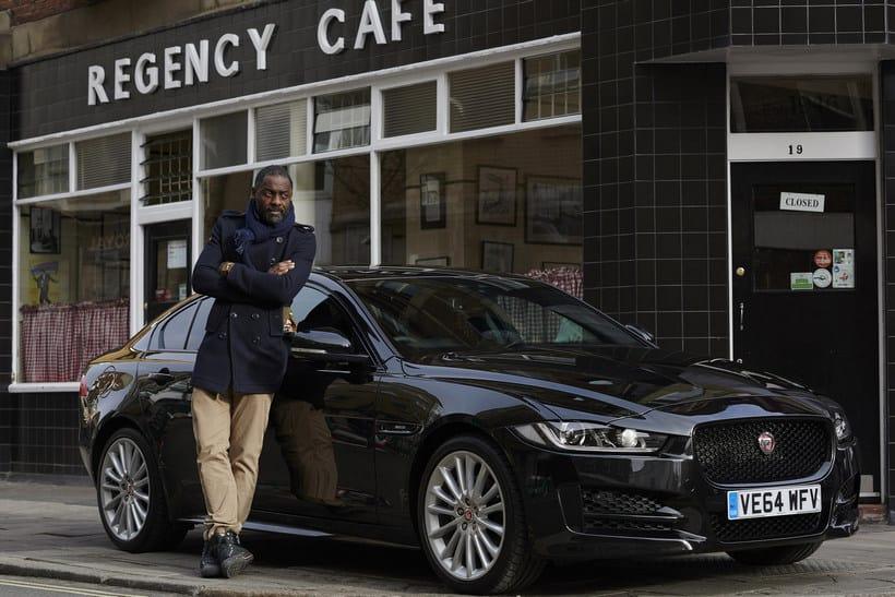 Idris Elba jaguar XE