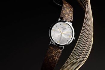 Louis Vuitton Tambour Slim Metallic Flower 1