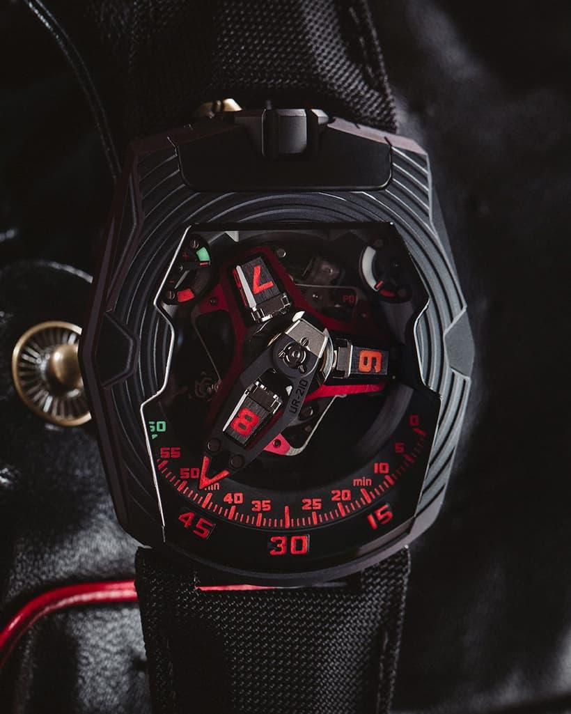 Urwerk UR-210 Black Platinum 1