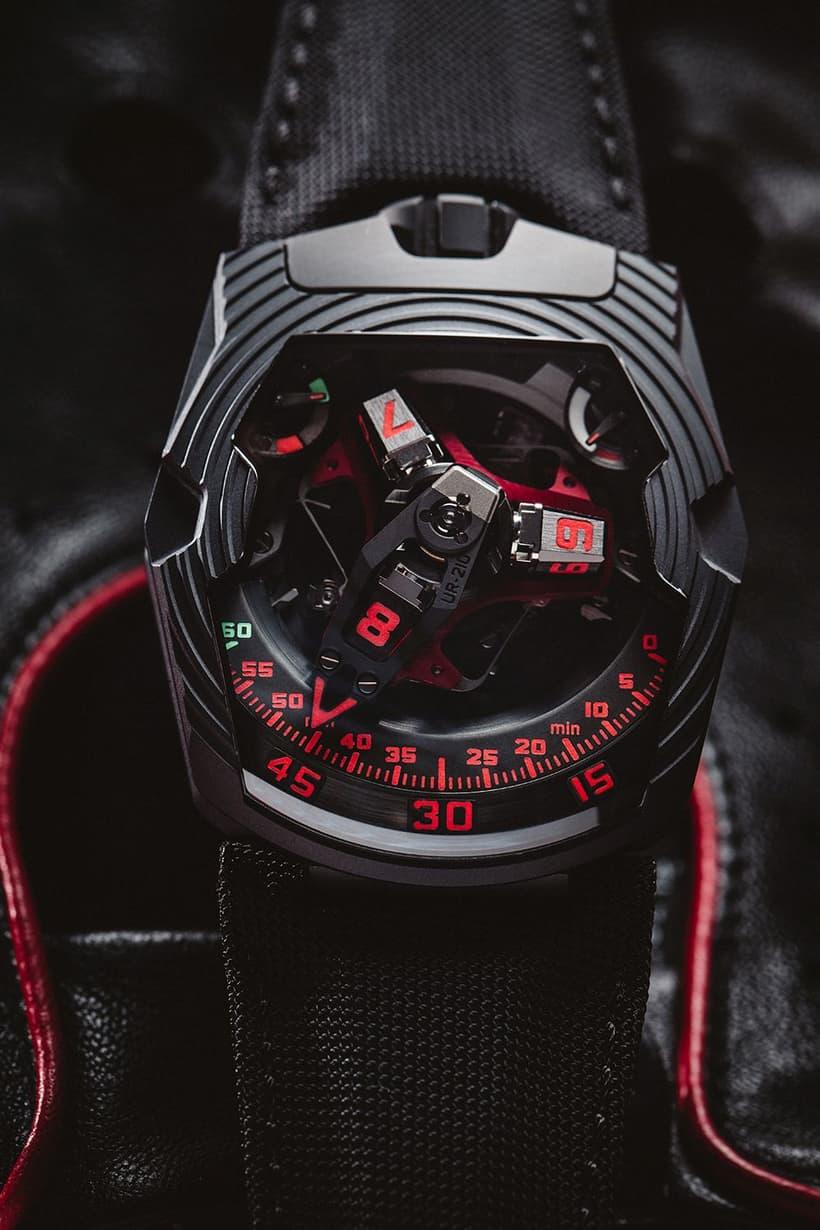 Urwerk UR-210 Black Platinum 2