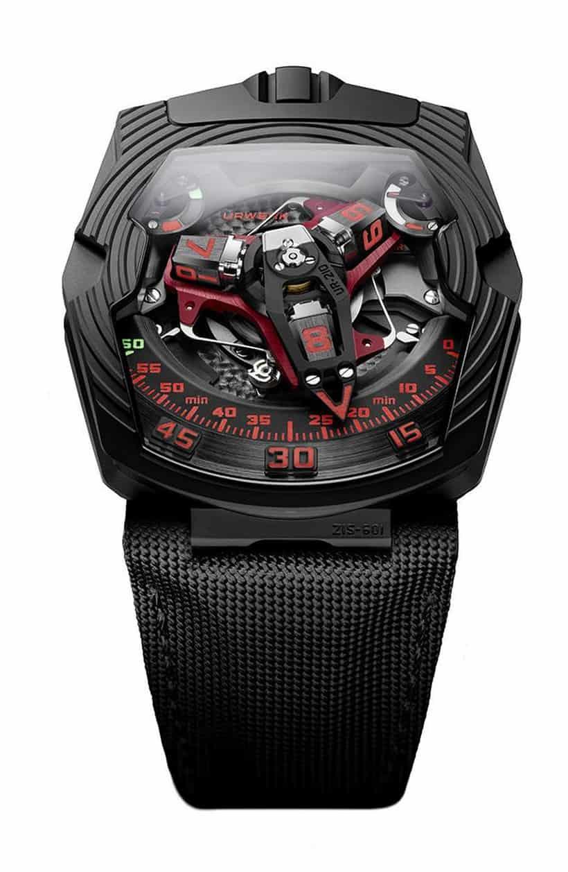 Urwerk UR-210 Black Platinum 4