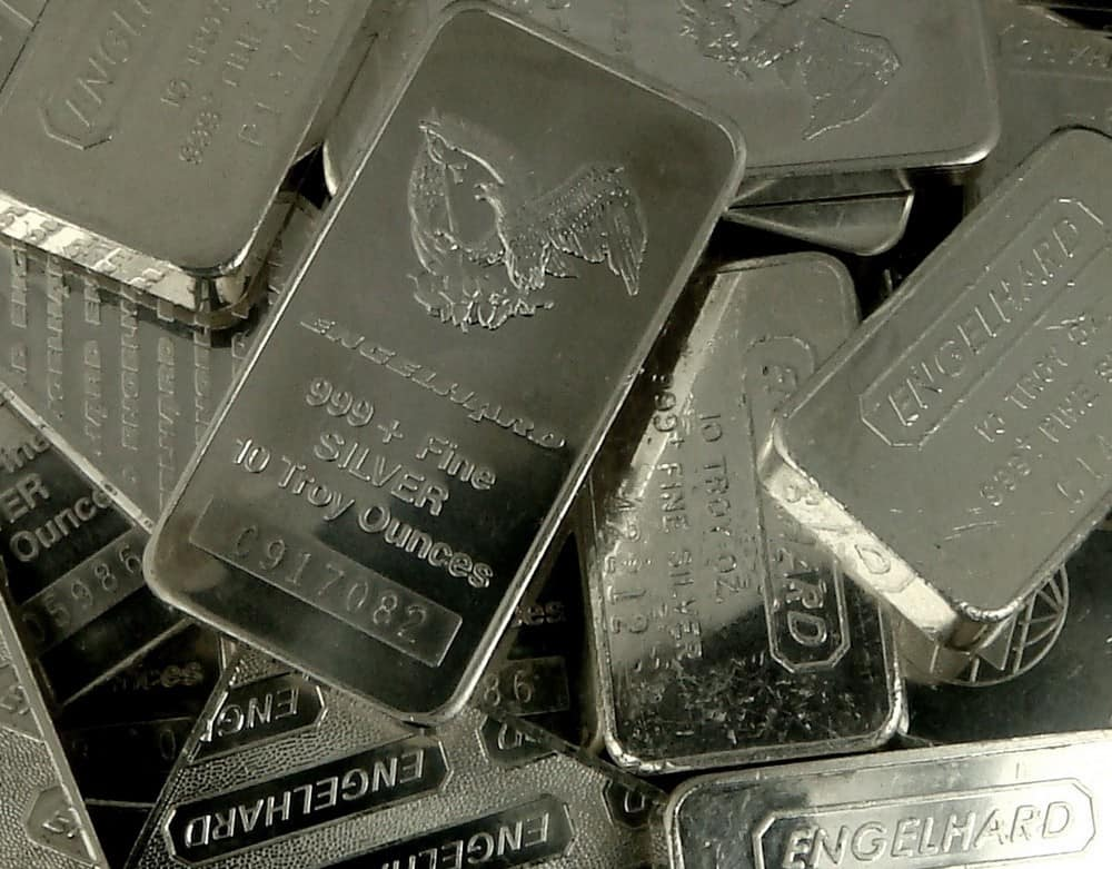 200 Pounds of Silver