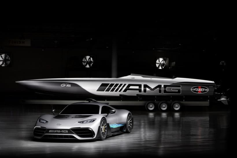 Cigarette Racing's 515 Project One Boat is an AMG-Inspired Treat
