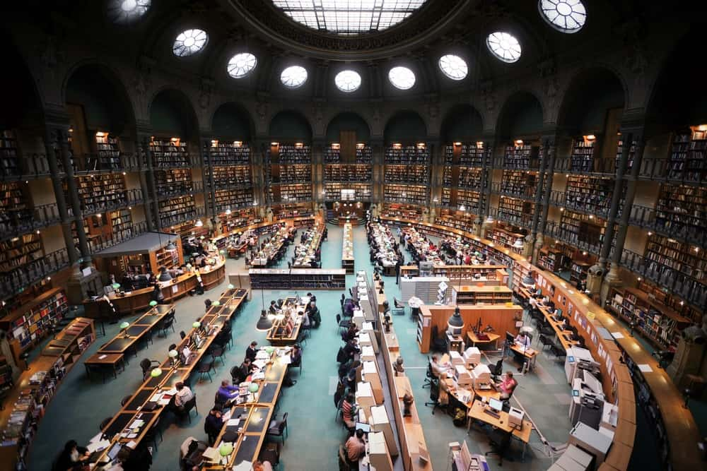 Bibliotheque Nationale in Paris