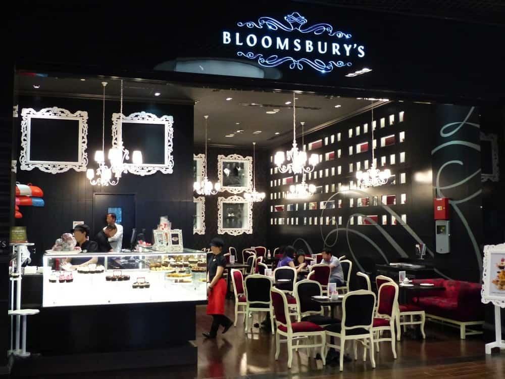 Bloomsbury Café dubai