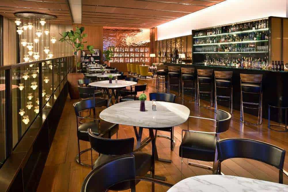 Bulgari Il Café interior