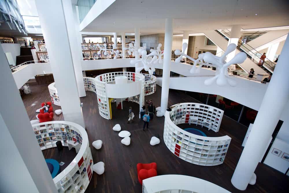 Centrale Bibliotheek in Amsterdam