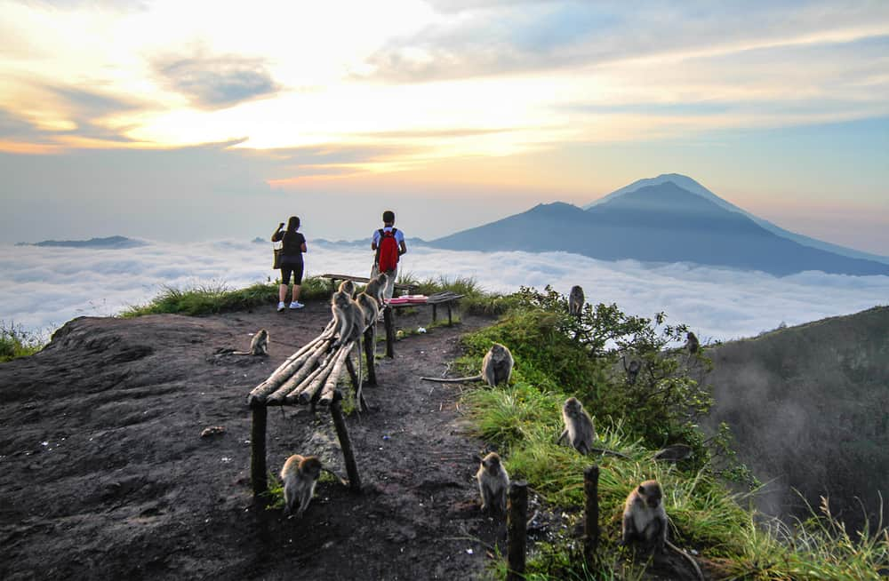 Climbing Active Volcanoes in Bali