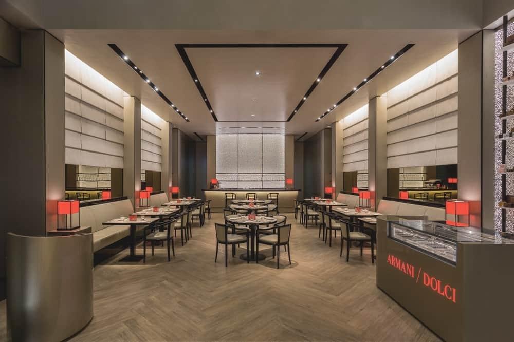 Emporio Armani Cafe interior