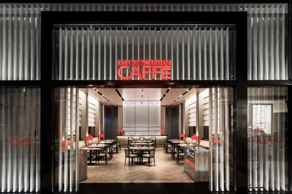 Emporio Armani Cafe dubai