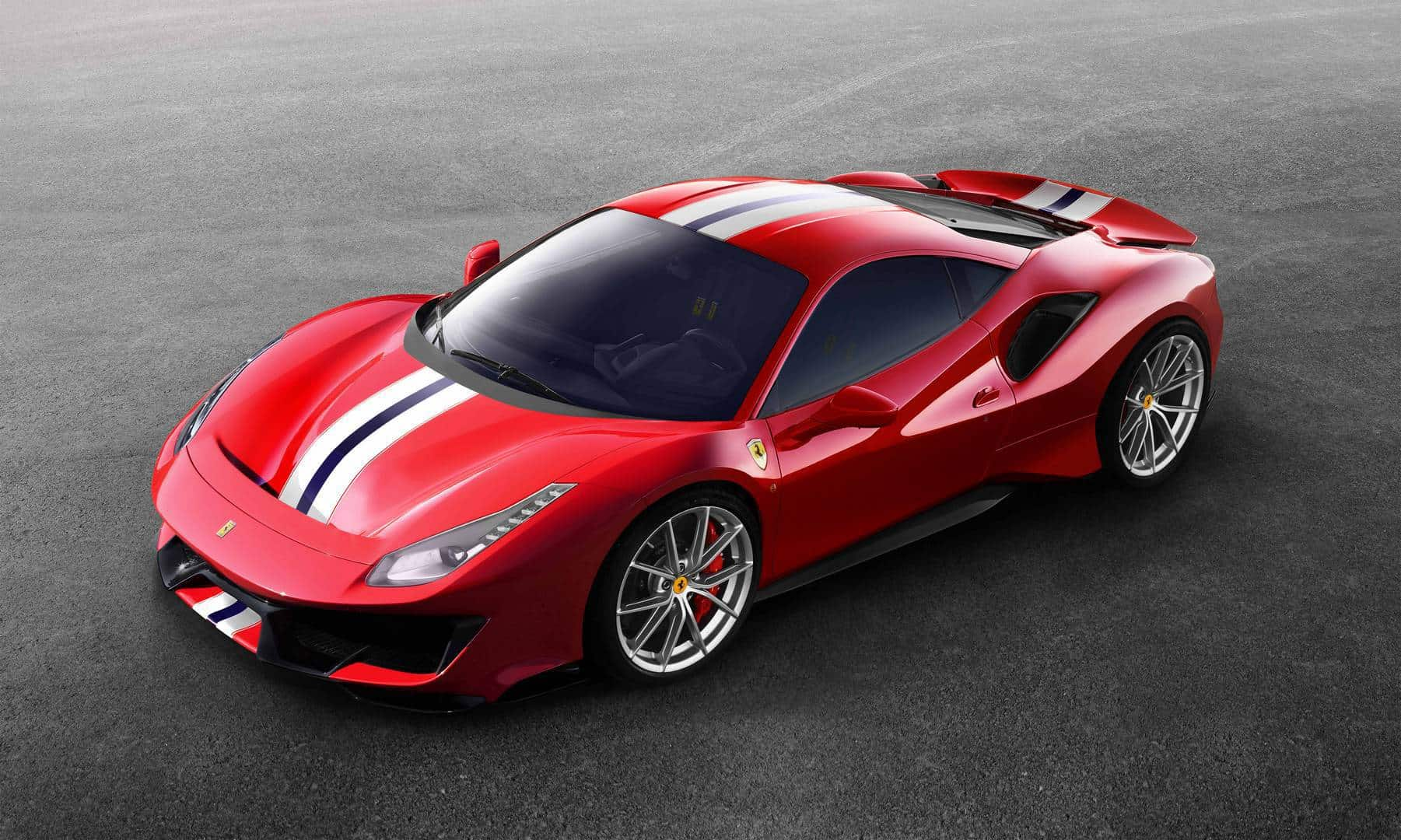 The Mind Blowing Ferrari 488 Pista Is Going For The Win