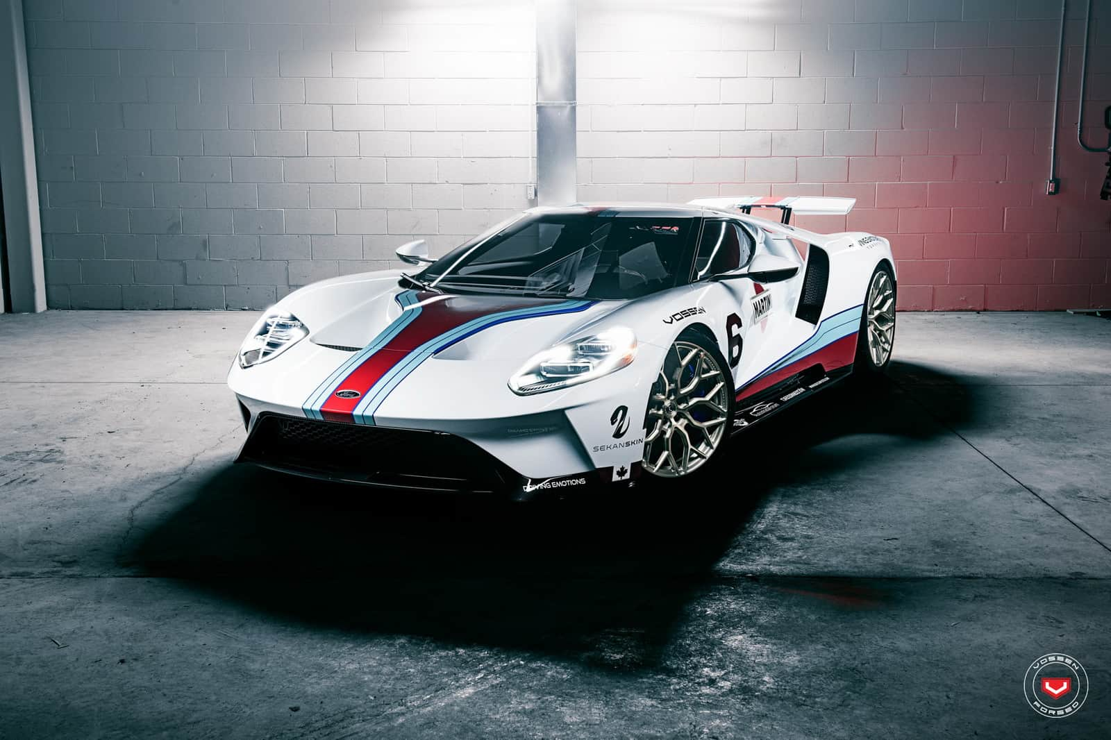 Ford ford gt car : This Ford GT Takes the Martini Livery to the Next Level