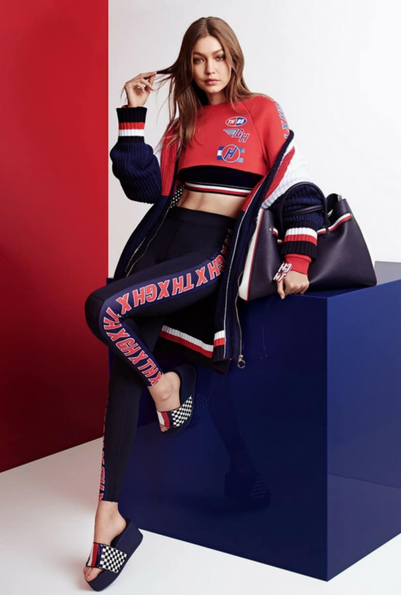 Tommy Hilfiger And Gigi Hadid Team Up For A New Collection