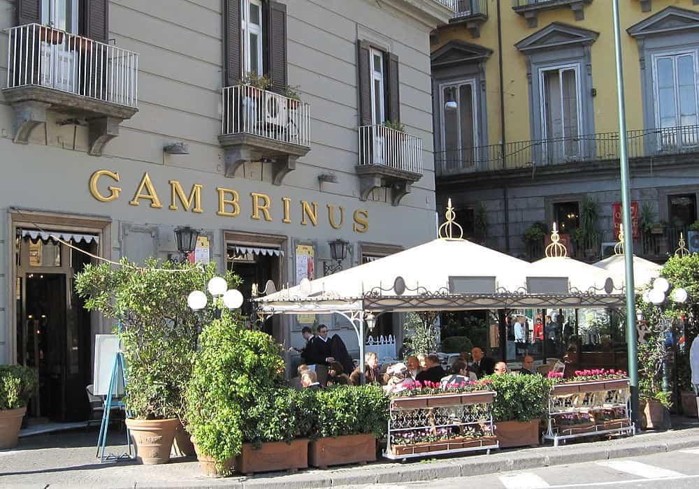 Grand Café Gambrinus naples