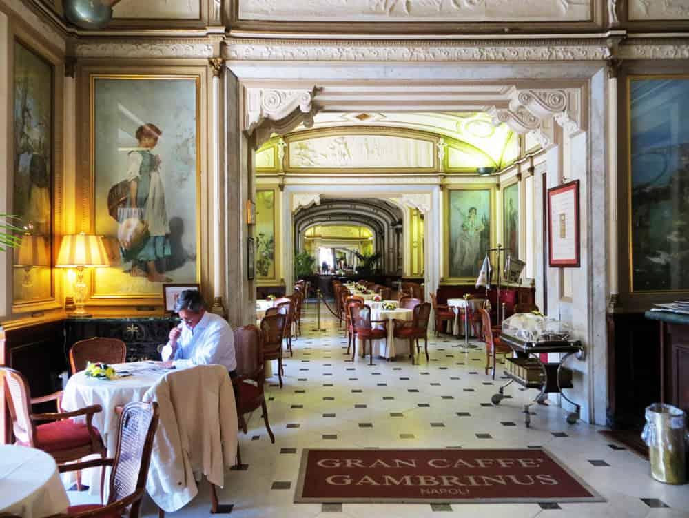 Grand Café Gambrinus interior