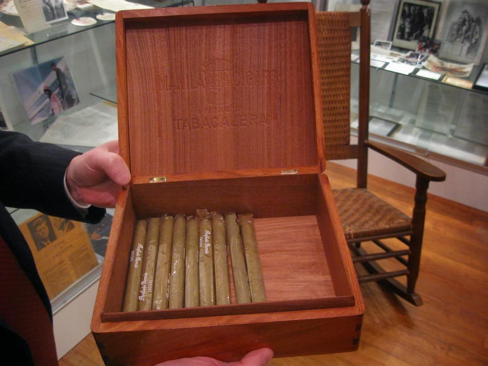 JFK's Cigar Box