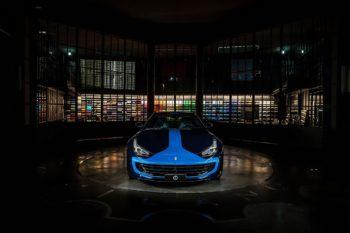 Lapo Elkann Ferrari GTC4Lusso 1