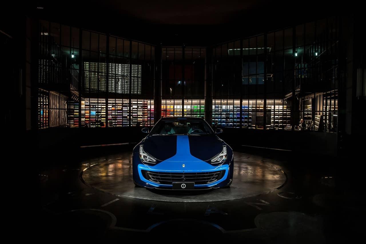Lapo Elkann's Ferrari GTC4Lusso
