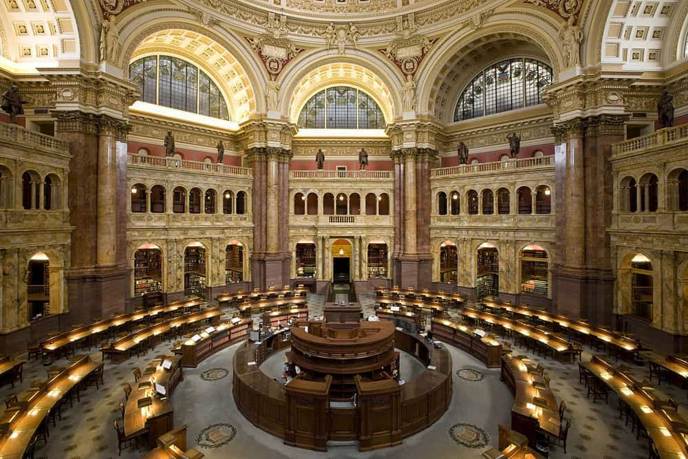 Library of Congress in Washington