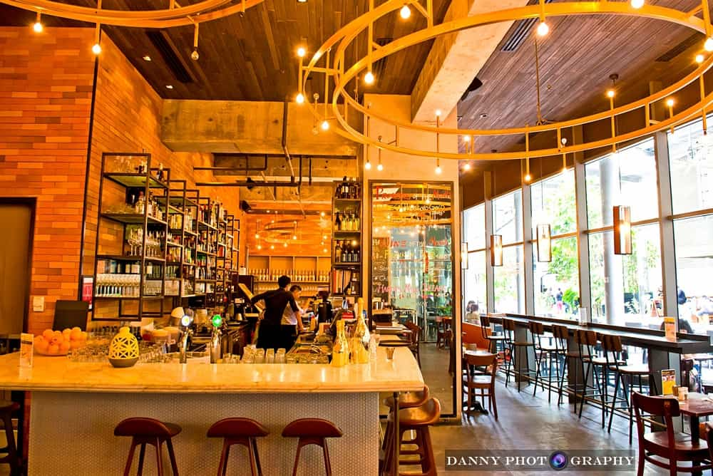 Oriole Café interior