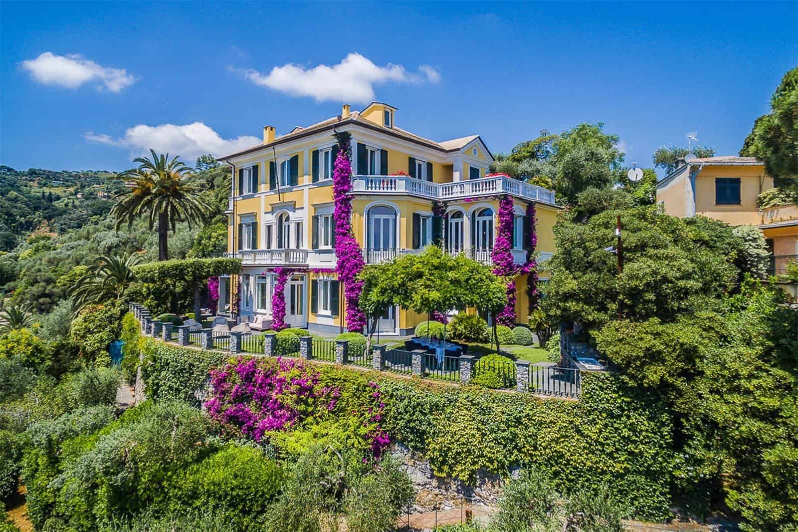 This Splendid Portofino Villa is the Perfect Place to Retire