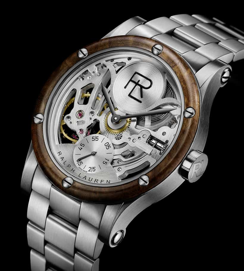 Ralph Lauren Automotive Skeleton Steel