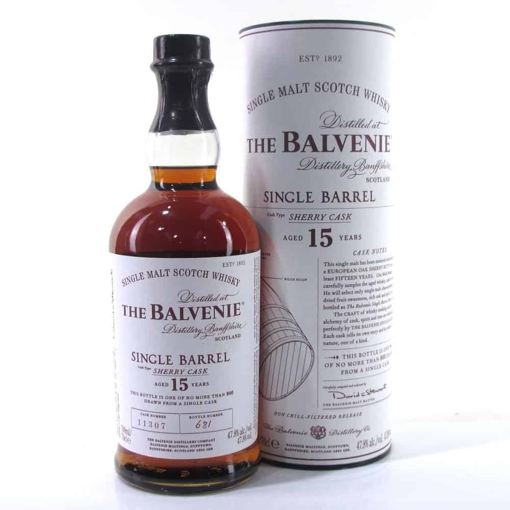 The Balvenie Single Barrel Sherry Cask 15 Year Old