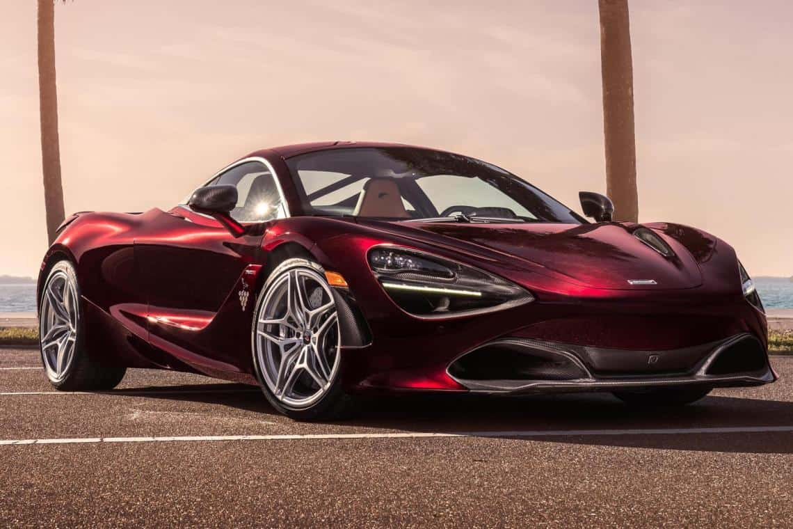 Unique MSO McLaren 720S Raises Money For Charity
