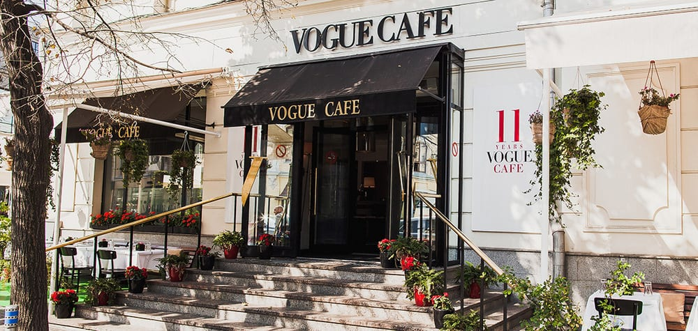 VOGUE Café moscow