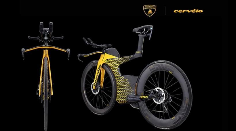 Cervélo P5X Lamborghini Edition Triathlon Bicycle