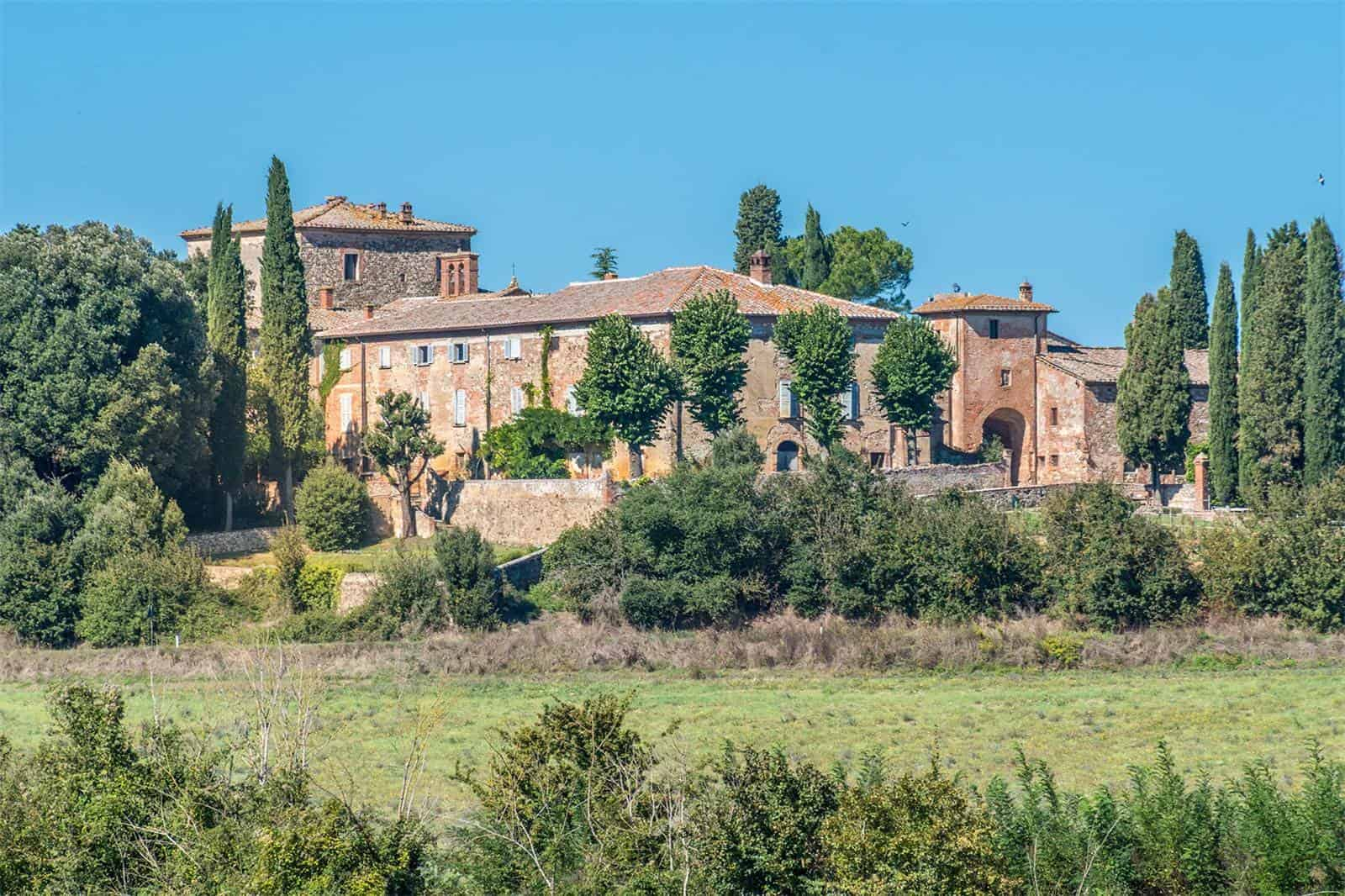 The Piccolomini Estate is a Breathtaking Property from Siena, Italy