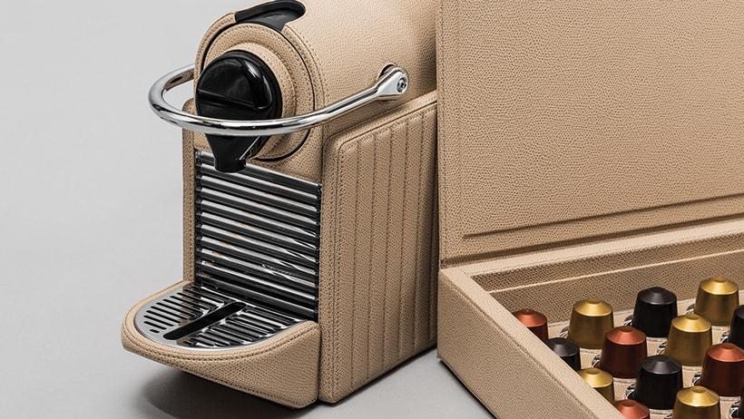 Leather Nespresso Machines