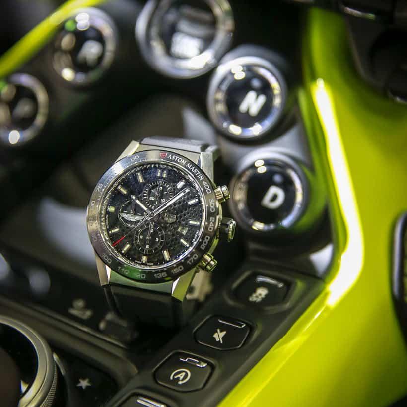 TAG Heuer Carrera Heuer 01 Aston Martin