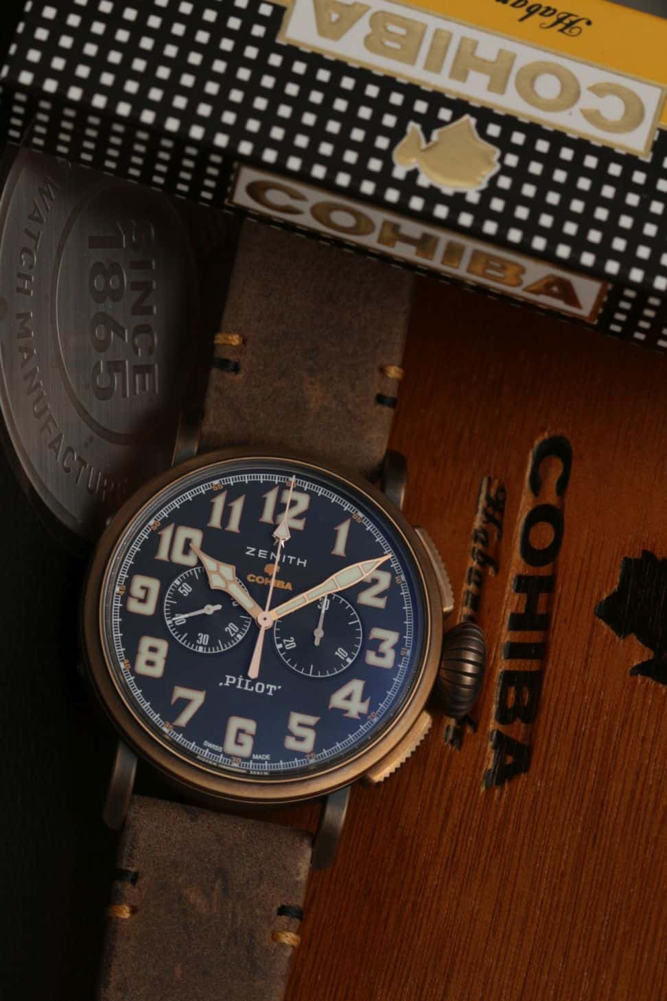 Zenith Pilot Type 20 Chronograph Cohiba-Maduro 5